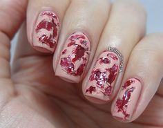 All Bloodied Up - Brit Nails