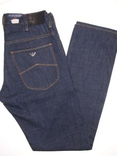Armani Jeans regular fit men's jeans size 31x34 J22  NWT  #ArmaniJeans #regularstraight