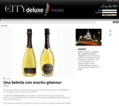 La web City Deluxe recomienda Vin Doré 24K Champagne, Drinks, Bottle, City, Daily Activities, Finance, Cover Pages, Beverages, Flask