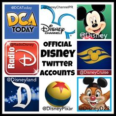 "Twitter ""Just Got Happier"" — 25 Official Disney Accounts To Follow Now Disney Map, Disney Love, Disney Parks, Disney World Florida, Walt Disney World Vacations, Disney Trips, Disney Planning, Trip Planning, Disney Account"