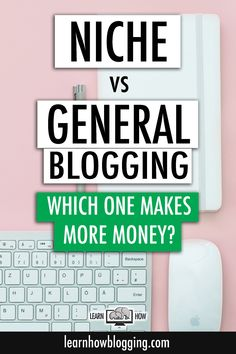 Learn how niche blogging and general blogging are different and what type of business strategy you should have for each type of blogging website.  #blogging #startablog #website #onlinebusiness Make More Money, Make Money Blogging, Make Money Online, Blogging Ideas, Business Tips, Online Business, Strategy Business, Content Marketing, Online Marketing