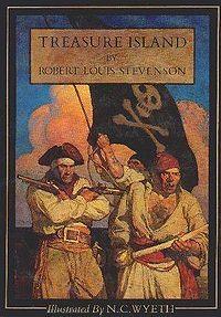 Treasure Island by Robert Louis Stevenson.