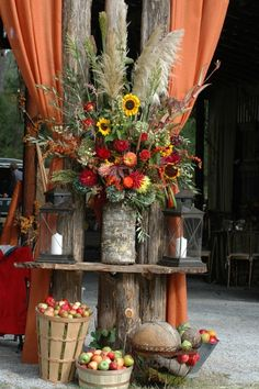 Thanksgiving / Autumn Wedding Harvest Decor Inspiration