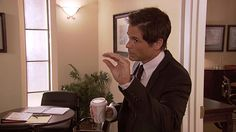 #ParksandRec Parks N Rec, Parks And Recreation, Chris Traeger, Rob Lowe, View Photos, I Am Awesome, Watch, Cute, Painting