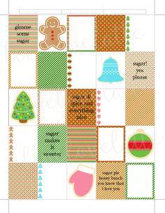 CHRISTMAS SUGAR COOKIES Erin Condren (Vertical) Planner Stickers - digital - Instant Download by LiveLoveLatte on Etsy