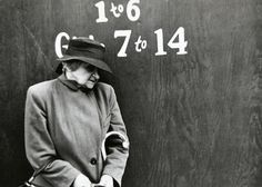 New York in the late 40s early 50s by Louis Faurer