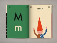 'M'  :  Anna Kovecses  Hungarian Alphabet