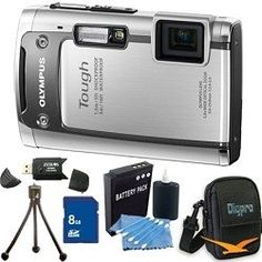 $179.00 Olympus Tough TG-610 14MP Waterproof Shockproof Freezeproof Digital Camera (Silver) w/ 3.0  - See More Point and Shoot Digital Cameras atwww.zbuys.com/level.php?node=5905=point-and-shoot-digital-cameras