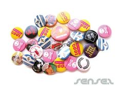 Pins were big in the 80s. I had many - mostly with band names on them.