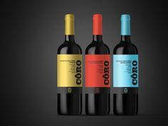 Concept: Quinta do Côro — The Dieline | Packaging & Branding Design & Innovation News