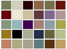 The Victorian Color Palette