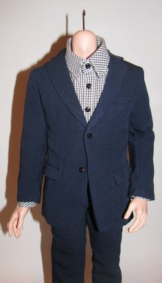 Classic suit for FID man Iplehouse by NatZayShop on Etsy