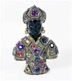 Blackamoor jewelry