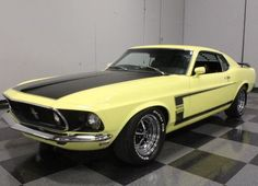 1969 Boss 302 in Yellow