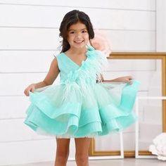 ARABELLA Mint Dress, Purple Dress, Beautiful Dresses, Nice Dresses, Summer Dresses, Little Girl Dresses, Flower Girl Dresses, Tiffany Dresses, Flora Dress