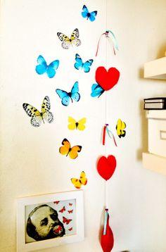 Veja mais no joiasdolar.blogspot.com.br *Em cada post do blog constam os créditos das imagens* #diy #decor #inspiração #inspiration #inspiración #ideas #ideias #joiasdolar #projects #tutorials #craft #handmade #butterfly