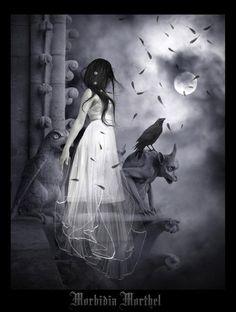 Morbid and Mystic Horror Art Pictures — Smashing Magazine Dark Beauty, Beauty Art, Fantasy Kunst, Fantasy Art, Divas, Gothic Vampire, Vampire Art, Scary Art, Creepy
