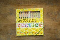 Photo of Natural Beeswax Crayon