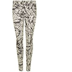 J Brand Byrinth Print Jeans ($145) ❤ liked on Polyvore featuring jeans, print skinny jeans, j brand jeans, white skinny leg jeans, mid rise white skinny jeans and skinny fit jeans