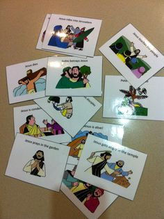 The Catholic Toolbox: Sequence Bible Story Cards