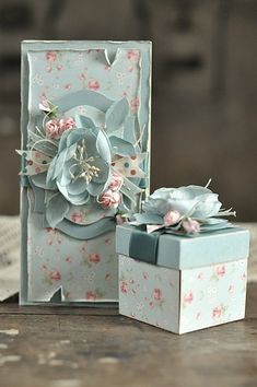 exploding box with birdcage inside <3