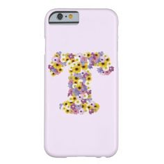 Monogram letter T Barely There iPhone 6 Case - monogram gifts unique design style monogrammed diy cyo customize