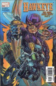 Hawkeye Issue #3