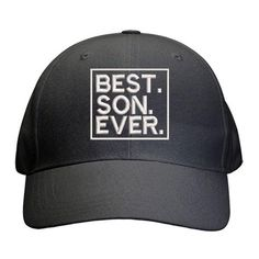 Best Son Ever Cap Best Dad Gifts, Cool Gifts, Father And Son, Gifts For Father, 2 Year Olds, Sons, Cap, Baseball Hat, Best Gifts For Dad