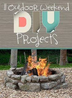 11 Outdoor Weekend DIY Projects