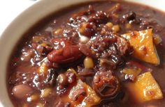 Chili, Soup, Bacon, Potatoes, Cooking Recipes, Calorie Calculator, Food, Chile, Chilis