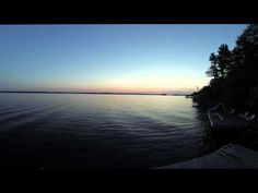 Muskoka Sunset Time Lapse Ontario, Celestial, Sunset, World, Beach, Places, Water, Youtube, Outdoor