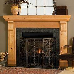 Lancaster - Traditional Wood - Fireplace Mantel Surrounds - MantelsDirect.com