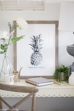 Pineapple Art Print for free Just Destiny Mag