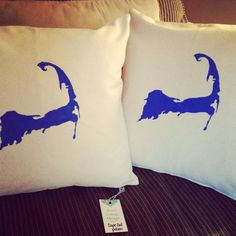Cape Cod Pillows from beach Cottage Living, Cape Cod