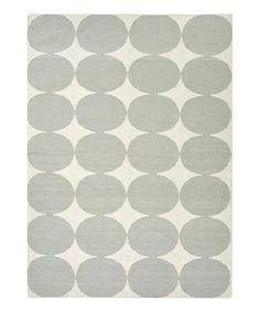 Gray Circles Rug