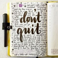 Do you know someone who doodles? Some excellent diary doodling by @pepperandtwine via @designspiration #dontquit #inspiration #style #create #graphic #design #quote #qotd #motivation #doodling #drawing