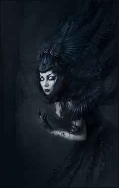 "darkbeautymag: "" Photographer/Model/Retoucher: Bathoriya """