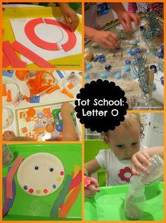 Tot School: Letter O