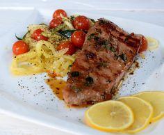 cuketa recepty Tzatziki, Pesto, Ale, Steak, Pork, Food And Drink, Fish, Recipes, Pork Roulade