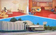 Late – McBride-Bennett-Ulm Funeral Home at 15201 N. Avenue, Miami - Amazing Midcentury Photographs of Miami Page 2 of 2 Best of Web Shrine Miami Photos, Funeral, Mid Century, Amazing, Outdoor Decor, Home Decor, Ulm, Decoration Home, Retro