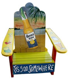 Painted Adirondack Chair Cool Chair Made by Howard