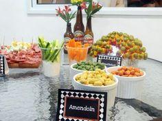 menu fiesta de cumpleaños SANO adultos - Buscar con Google