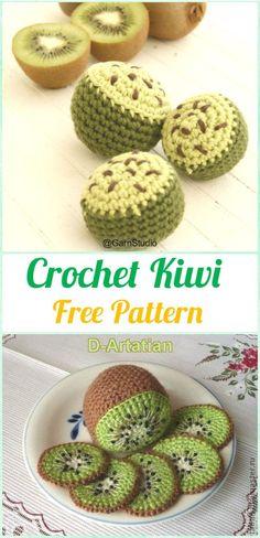 Crochet Amigurumi Fruits Free Patterns 22716f4276b8b