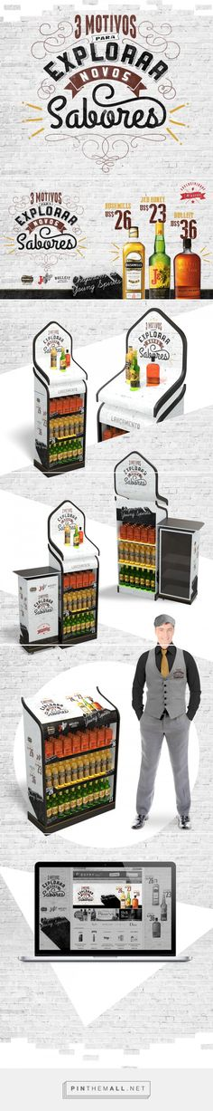 Young Spirits on Behance Pos Display, Wine Display, Display Design, Booth Design, Pos Design, Retail Design, Branding Design, Cool Retail, Retail Signage