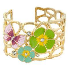 Summer Garden Bracelet Cuff