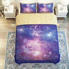 Galaxy Bedding Set Bluee Galaxy Comforter set Night Sky Gradient Stars Quilt Cover Bed set E Bedding Sets http://www.amazon.com/dp/B01A22JMUO/ref=cm_sw_r_pi_dp_foOIwb0786QT9