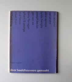 Brochure for the Stedelijk Museum Amsterdam, design Wim Crouwel and Daphne Duijvelshoff (Total Design) / 1978