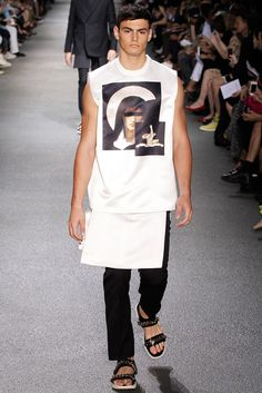 See the complete Givenchy Spring 2013 Menswear collection.