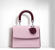 "BE DIOR SMALL ""BE DIOR"" BAG TWO-TONE CALFSKIN"