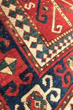 Kazak Rug detail (Southwest Caucasus)